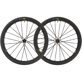 Mavic Allroad Pro UST Disc CL 12mm Shimano/SRAM M-35 sort
